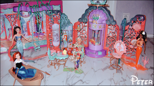 Mes poupées Disney :) Ariel-castel-43410b6