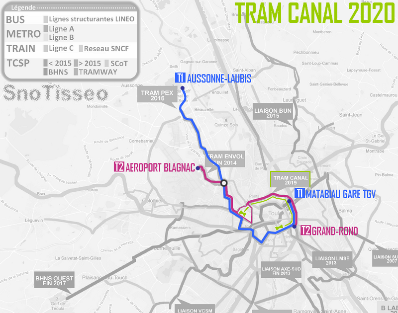 Transport mobilit urbaine afficher le for T2 sur bordeaux