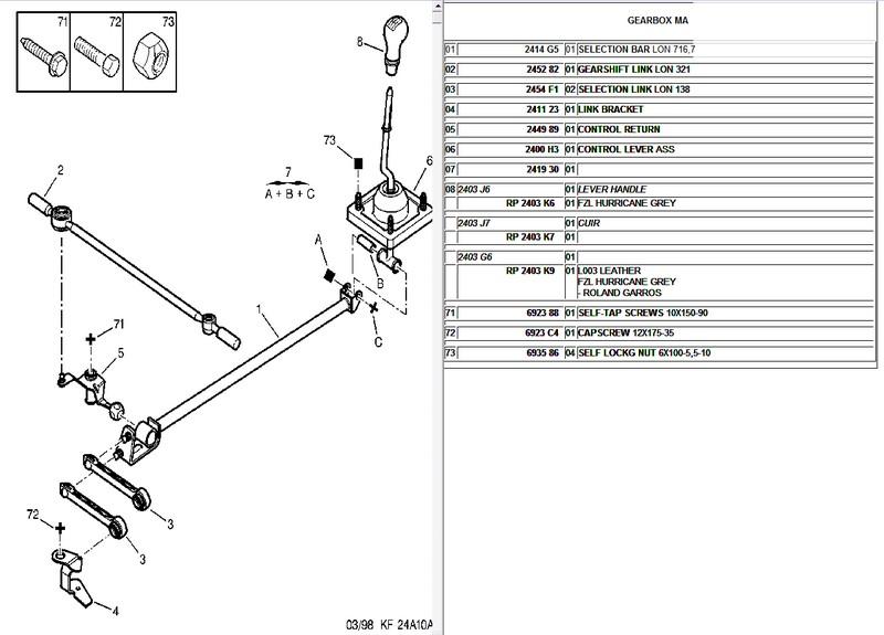 [VDS] kit biellettes de boite MA rotulées neuf Ma-3de49b8