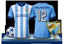 Camiseta Málaga CF para avatar 1-3f6a428