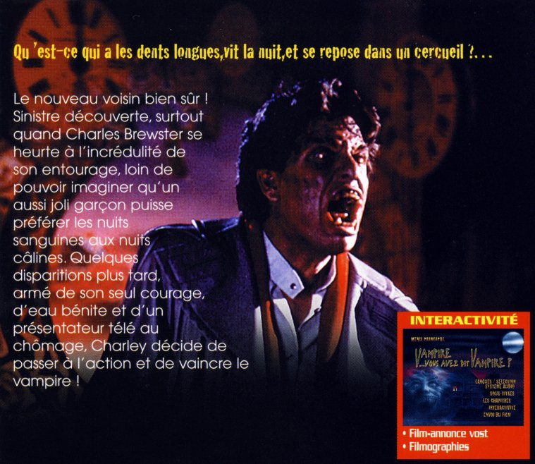 Vampire, vous avez dit vampire ? I et II ou, titres Original : Fright Night E-et-cie-vampire-...mpire-02-4025492