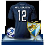Camiseta Málaga CF para avatar 4-3f7816a