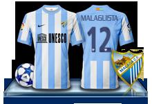 Camiseta Málaga CF para avatar 7-3f780d9