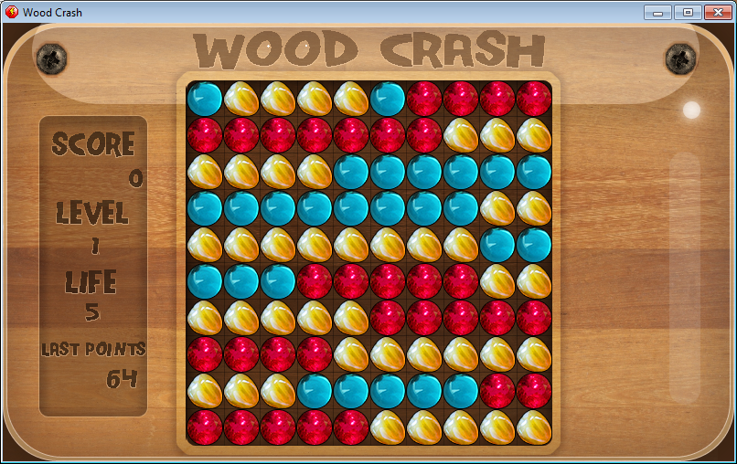 [Prototype Flash]Pixel Crash Wood-crash-3dffeb3